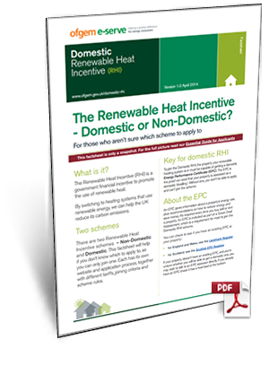 Renewable Heat Incentive Overview