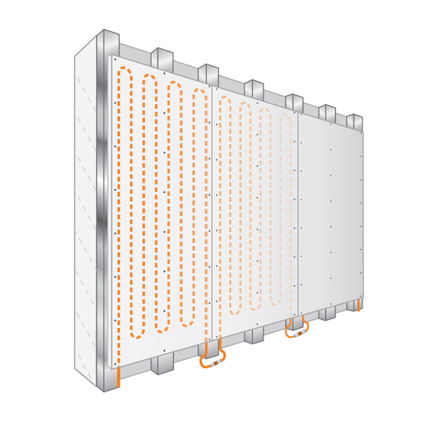 Wall Heating Modular Systems